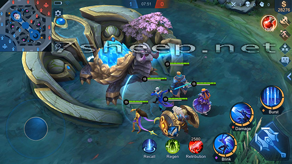 Cara Menang Main Mobile Legends