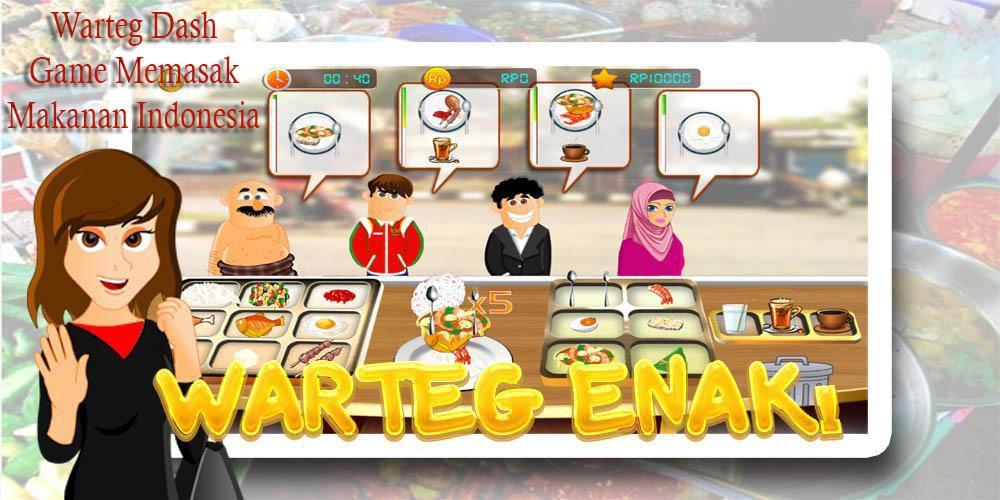 Game Online Memasak Makanan Asli Indonesia ini Bikin Bangga!