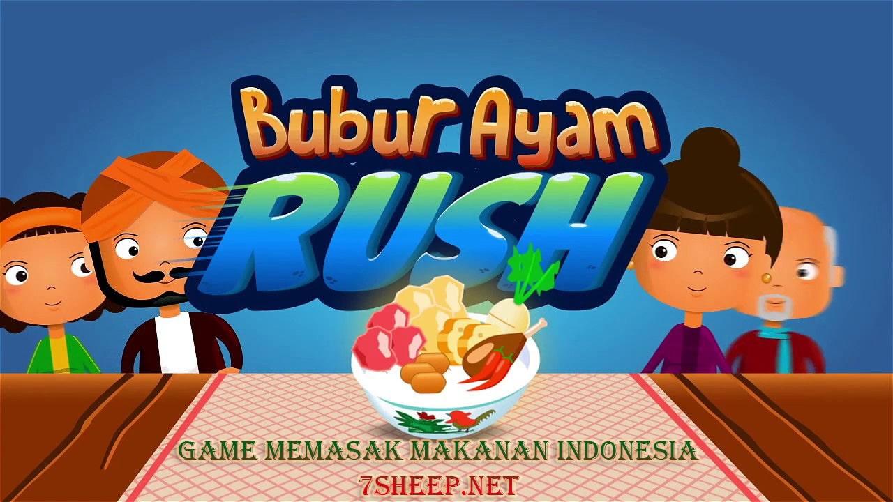 Game Seru Bertema Makanan Indonesia